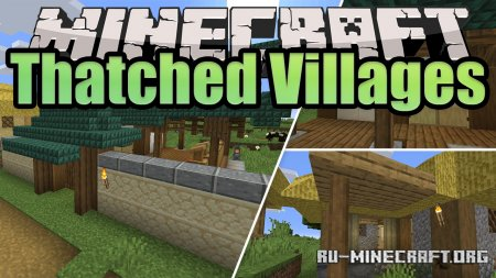 Скачать Thatched Village для Minecraft 1.15.2