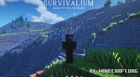 Скачать [10k x 10k] Survivalium для Minecraft