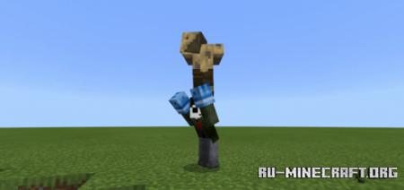 Скачать Mob YEET для Minecraft PE 1.16