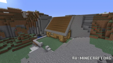 Скачать House and Bunker Base by Red_Adryan25 для Minecraft
