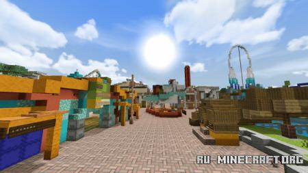 Скачать Thorpe Park (Theme Park) для Minecraft PE