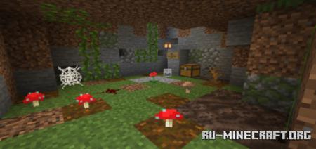 Скачать The Cavern Chronicles Chapter 1 для Minecraft PE
