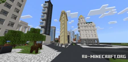 Скачать New York City для Minecraft PE