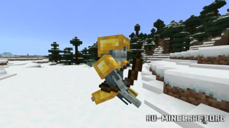 Скачать Light Armor для Minecraft PE 1.16