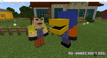 Скачать Hello Neighbor (Multiplayer Game) для Minecraft PE