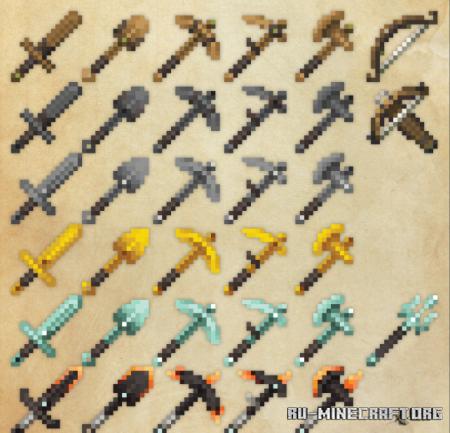 Скачать Kal's Arms & Armor для Minecraft 1.16