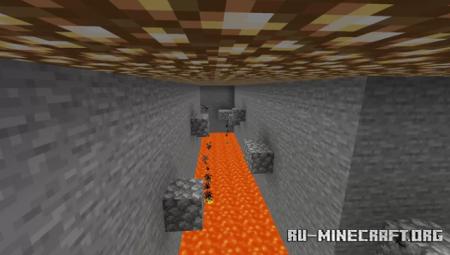 Скачать Der Unendliche Parkour для Minecraft