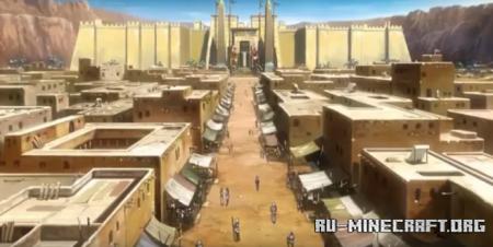 Скачать Ancient Egypt pharaoh Atem для Minecraft