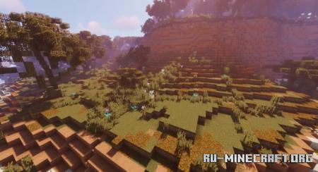 Скачать Aparid - Mesa River Valley для Minecraft