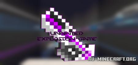 Скачать Unnamed Explosion Game для Minecraft PE