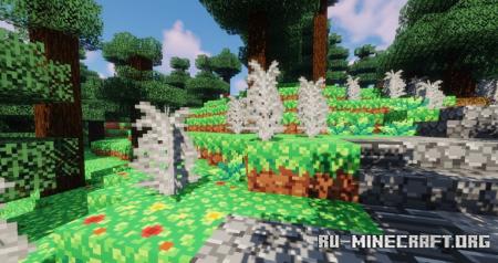 Скачать Bloom, Bright and Retro [16x] для Minecraft 1.16