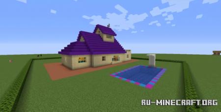 Скачать Oggy's House для Minecraft