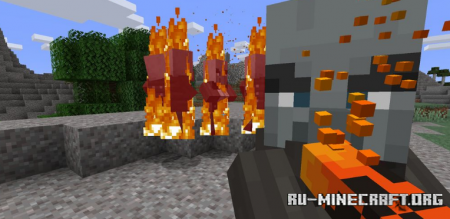 Скачать League of Legends: Brand для Minecraft 1.15.2