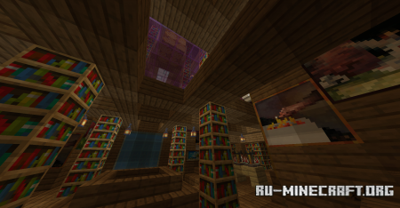 Скачать Escape the Library для Minecraft