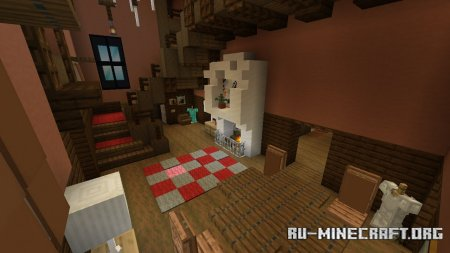 Скачать Escape the House by Glxyluke для Minecraft