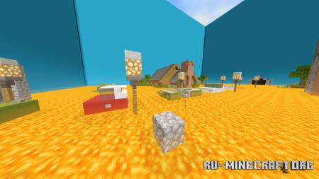 Скачать The Floor Is Lava V1 (Parkour) для Minecraft PE