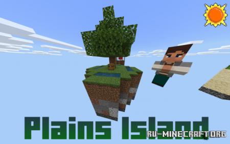 Скачать Sunny Skyblock для Minecraft PE