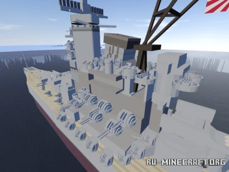 Скачать Battleship Yamato для Minecraft PE 1.16
