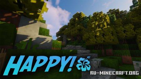 Скачать Happy! Resource [16x] для Minecraft 1.15