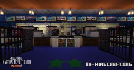 Скачать Noble Cinemas для Minecraft