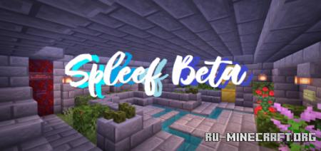 Скачать Spleef [BETA] by RPS Studio для Minecraft PE