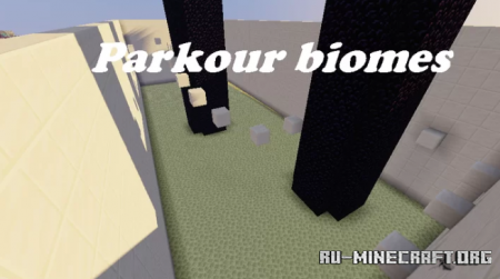 Скачать Parkour Biomes by yusifvatan для Minecraft