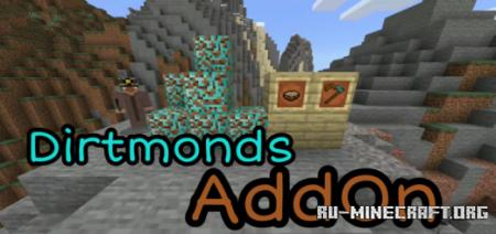 Скачать Dirtmonds для Minecraft PE 1.16