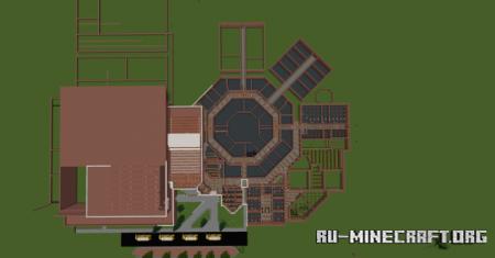 Скачать Harrison High School Build для Minecraft
