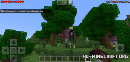 Скачать Slenderman для Minecraft PE 1.16