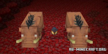 Скачать Piglins Plus для Minecraft 1.16
