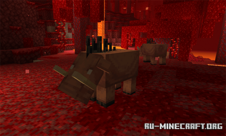Зоглин в Minecraft 1.16.3