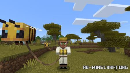 Скачать Beekeeper Trader для Minecraft PE 1.16