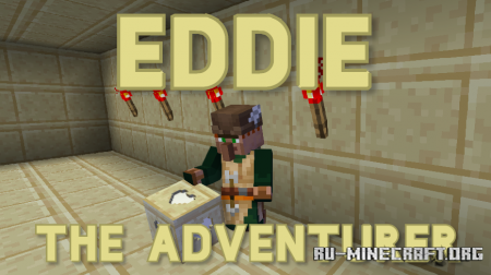 Скачать Eddie the Adventurer для Minecraft