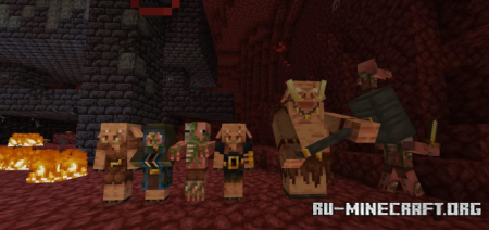 Скачать QuaccityJaccity's Nether Comes Alive для Minecraft 1.16
