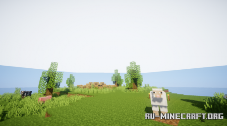 Скачать Ziovoda's Custom Survival Island для Minecraft