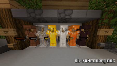 Скачать RE-FAULT PvP [32x32] для Minecraft PE 1.16