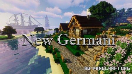 Скачать New Germani [32x] для Minecraft 1.16
