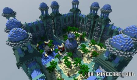 Скачать Map Spawn PvP Faction By ZeyKyl для Minecraft