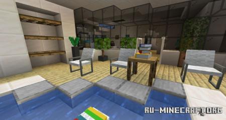 Скачать Reeves Furnitures для Minecraft 1.15.2