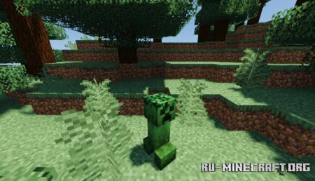 Скачать Camouflaged Creepers для Minecraft 1.16