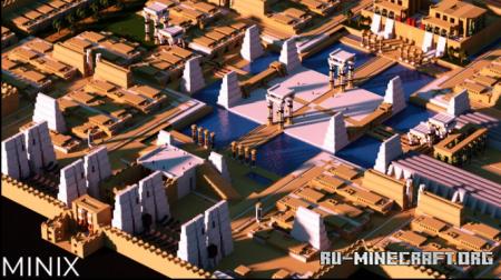 Скачать (MINIX) Egypt City by Bala Athousand для Minecraft