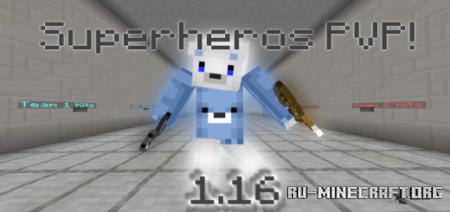 Скачать Superheros (PvP) для Minecraft PE