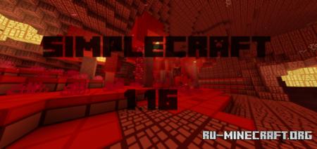 Скачать Simplecraft [16x16] для Minecraft PE 1.16
