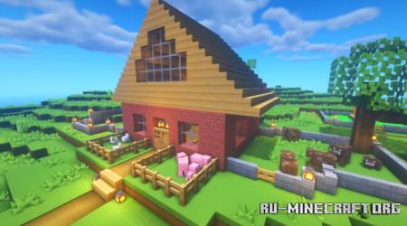 Скачать Rustic Survival House для Minecraft
