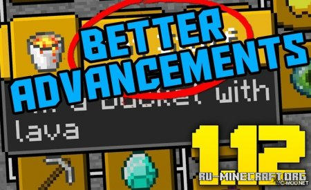 Скачать Better Advancements для Minecraft 1.16.3