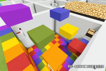 Скачать Grid Parkour для Minecraft PE