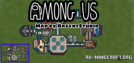 Скачать Among Us MC Map для Minecraft PE