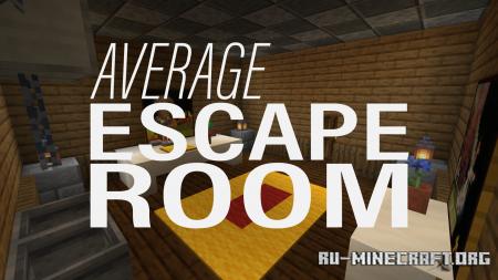 Скачать Average Escape Room для Minecraft