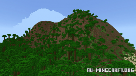 Скачать Jungle Islands (Custom Terrain) by Endercraft Studios для Minecraft PE