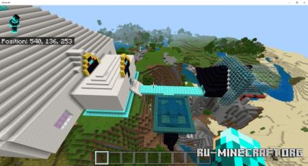 Скачать Roller Coaster by gamemastery5 для Minecraft PE